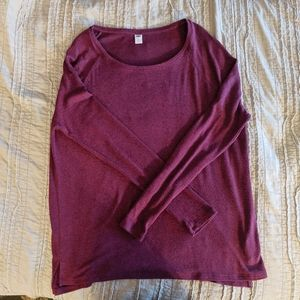 Old Navy Plush Knit Long Sleeve Shirt